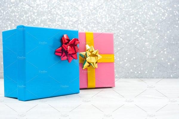 gift boxes presentation