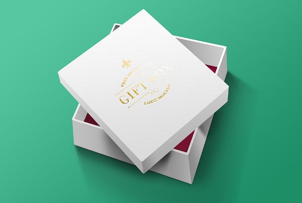 Free Gift Box PSD