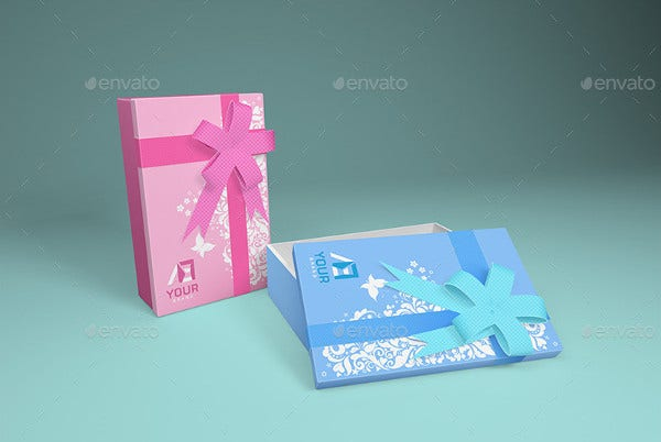 74 Gift Packaging Mock-ups
