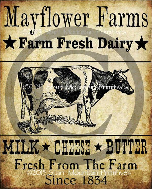 Dairy Farm Logo
