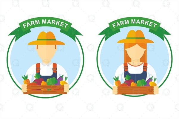 Farm market Logo