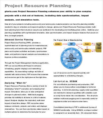 Project Planning Template - 9+ Free Sample, Example, Format | Free