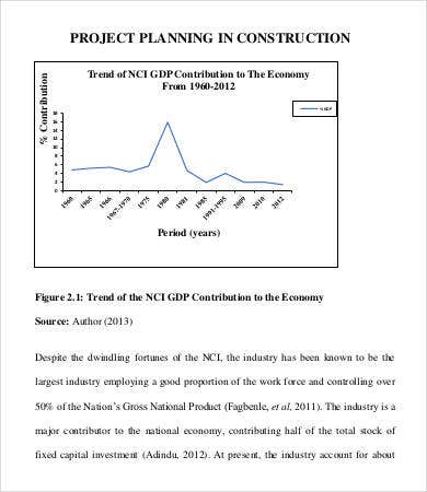 Construction Project Planning Template