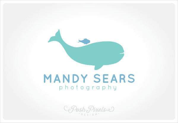 corporate company whale logo