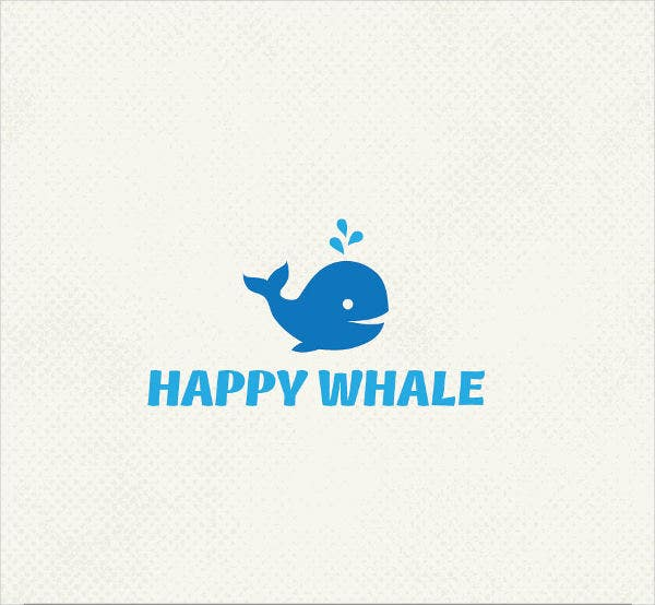 professional whale logo