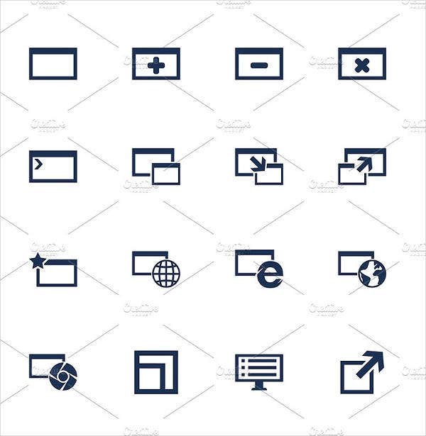 Computer Menu Icons