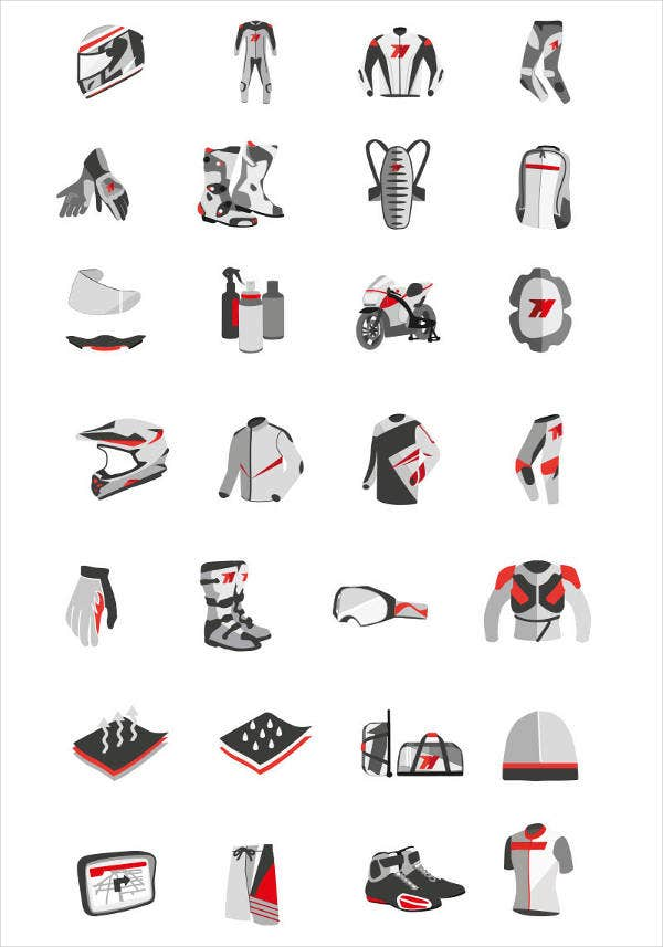Flat Menu Icons