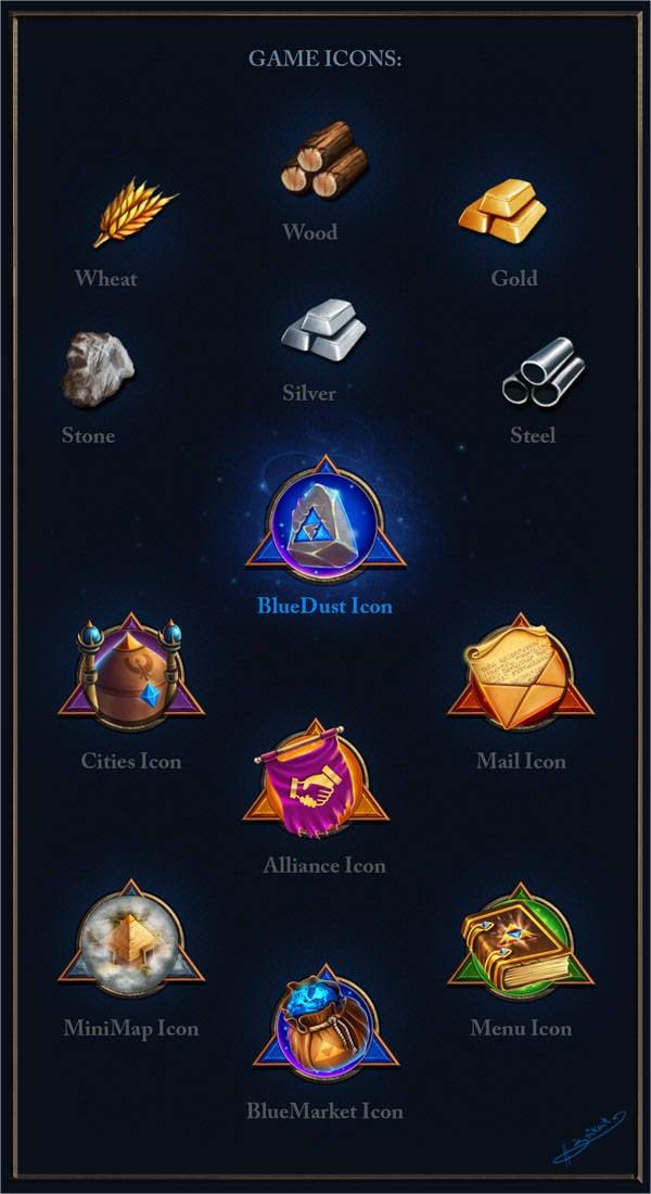 Game Menu Icons