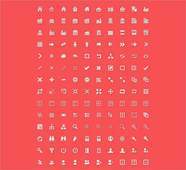 Vector Menu Icons