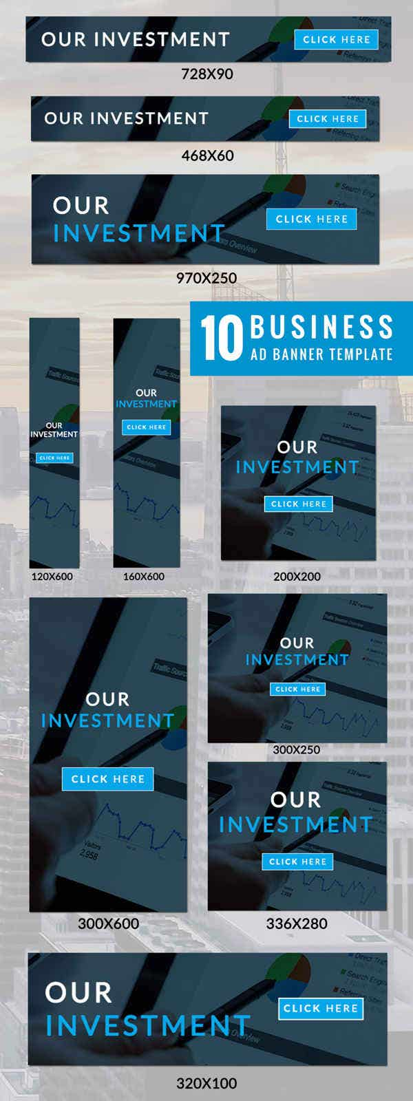 99 ad banner templates business fashion promotional ad banner templates