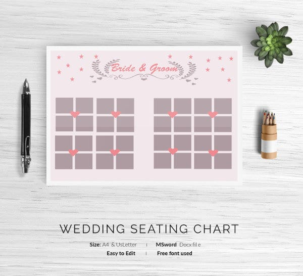 12 wedding seating charts templates modern luxury vintage