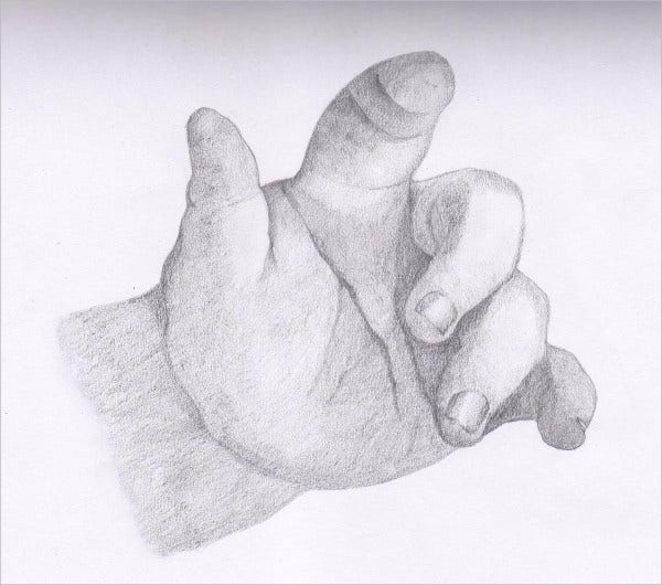 Baby Hand Drawing