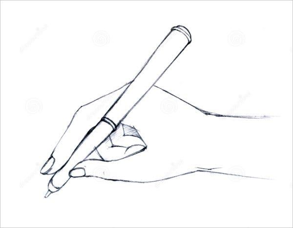 Hand Pen Drawing