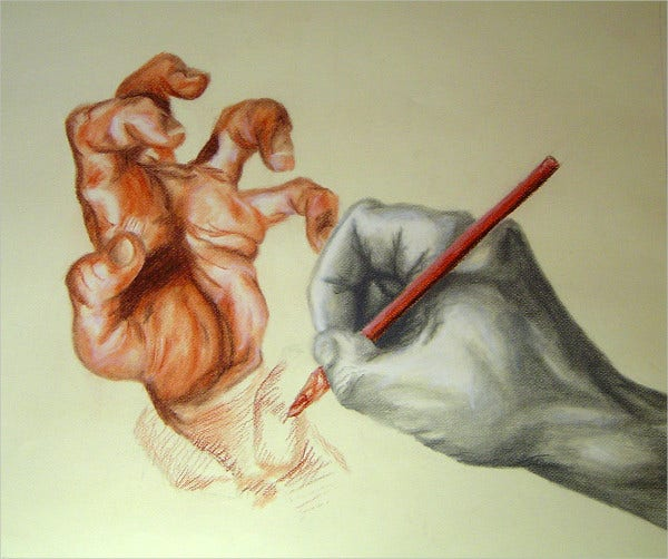 Pencil Hand Drawing