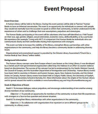music festival planning template - event proposal templates 8 free pdf download documents