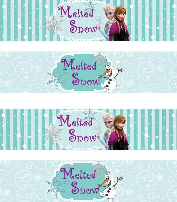 Free Frozen Printable Labels