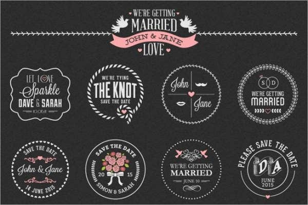 Free Wedding Printable Labels