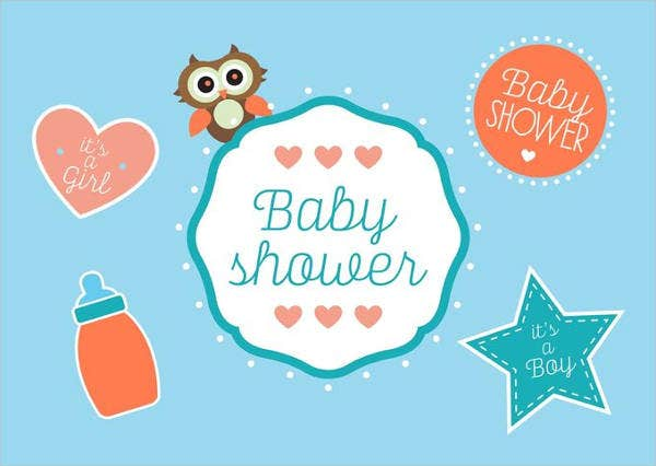 Free Baby Boy Shower Printable Template