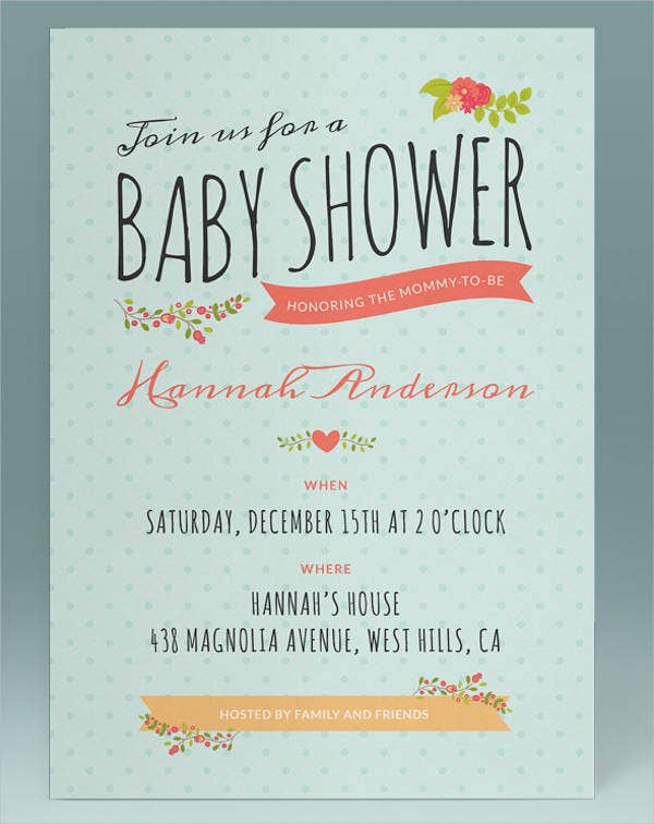 Free Baby Shower Invitation Printables