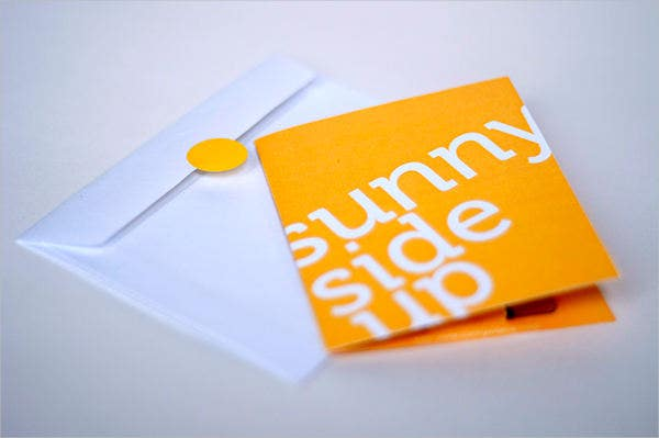 business gift card envelops