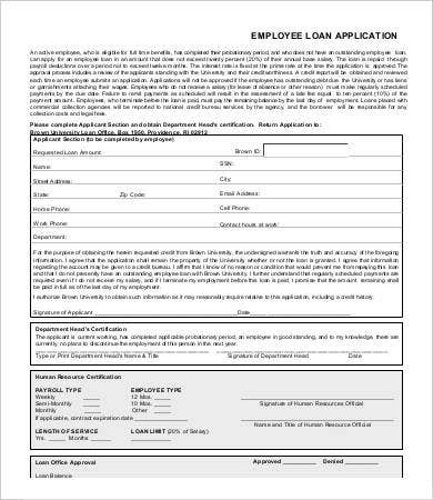 Employee Application Form 9 Free Word Pdf Documents Download