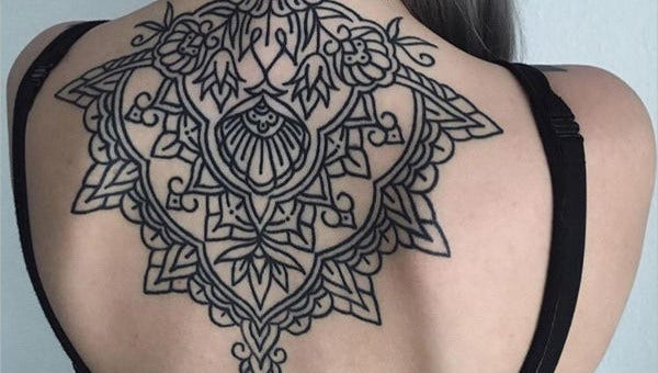 geometricflowertattoo