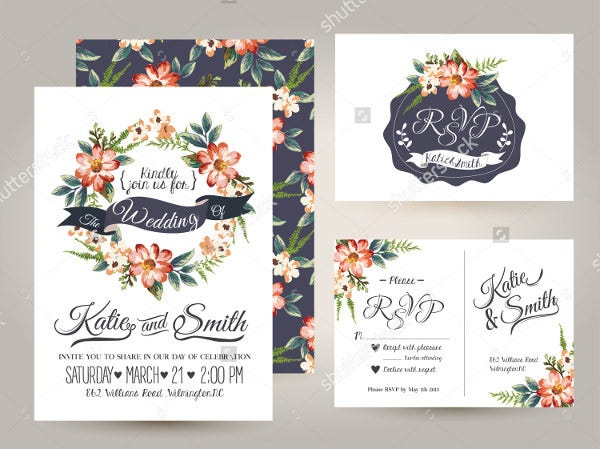 Wedding Flower Template