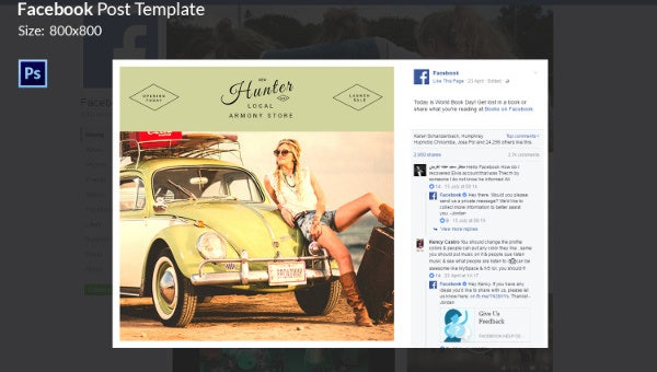 travel lifestyle facebook templates