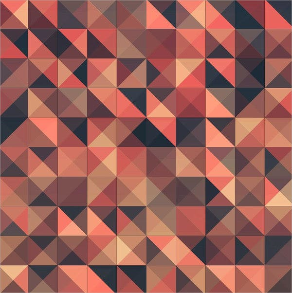 Triangle Pattern Design