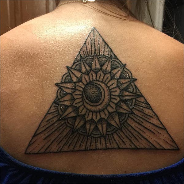 Triangle Tattoo Design