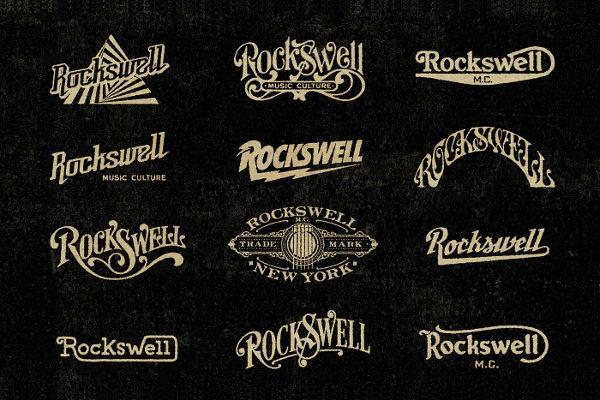 Rockswell Logo Design