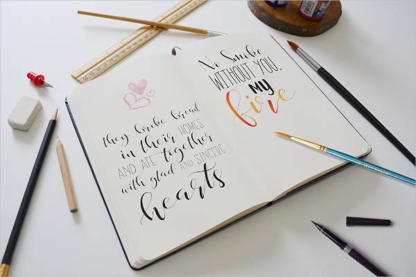 Caligraphy Signature Font
