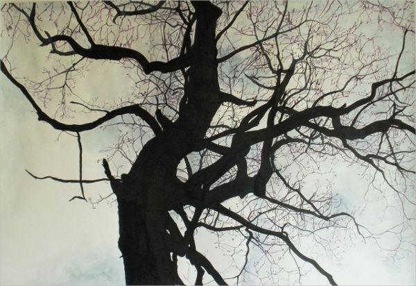 vintage-tree-drawing