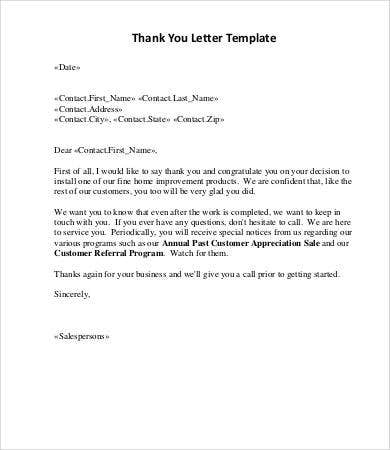 Sales Letter 12 Free Word Pdf Documents Download Free