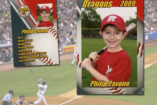 sports magazine template for children