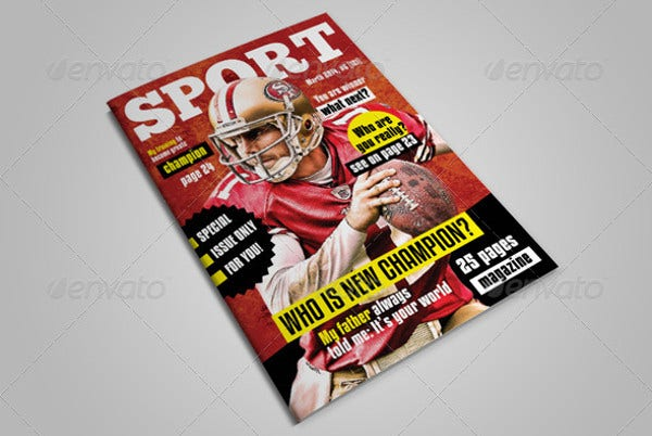 Sport Magazine with 25 Pages