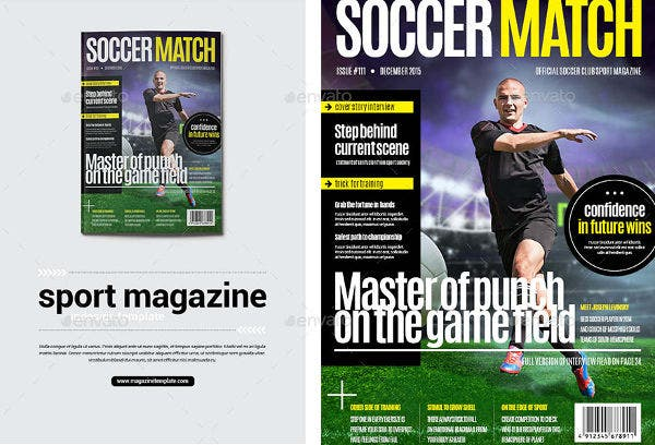 Soccer Sports Magazine