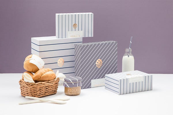 Isolated Bakery Branding Mockup