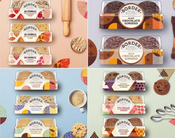 bakery cookies branding mockup