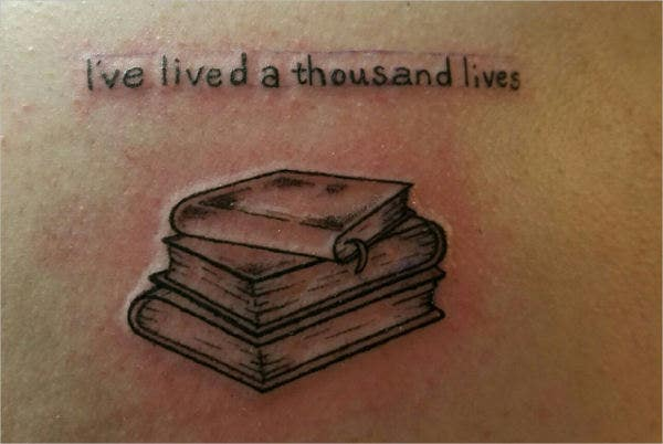 literary quote tattoo