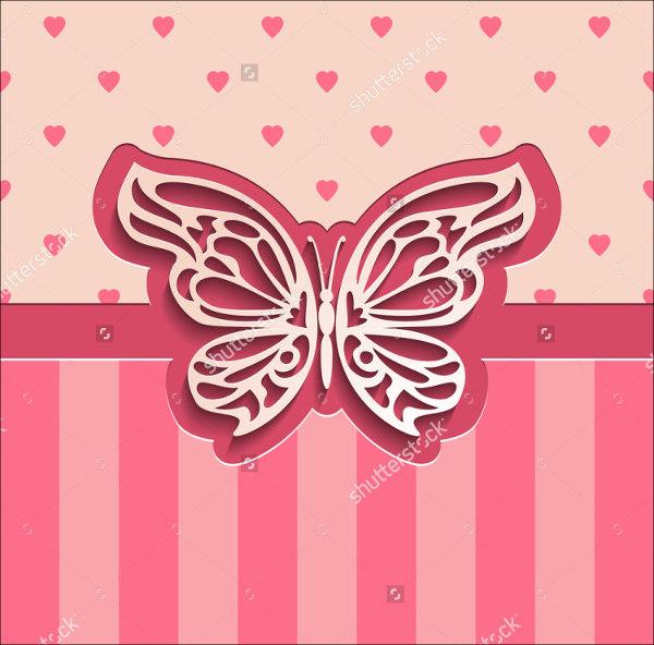 3d Butterfly Template