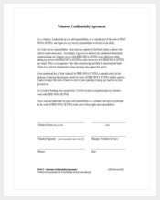 volunteer-confidentiality-agreement-sample-pdf-format