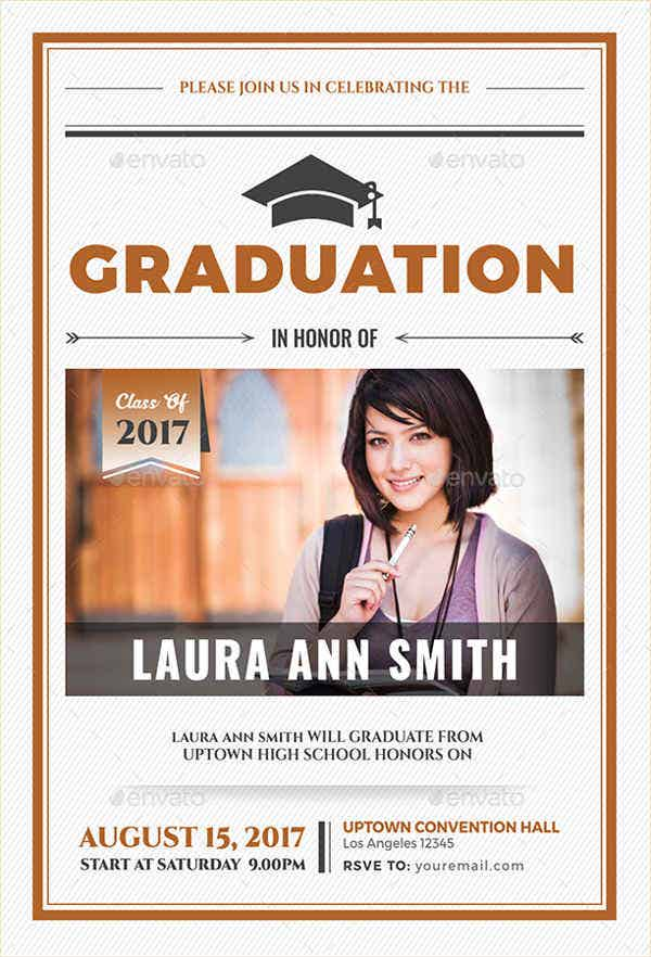 Printable graduation Party Invitation