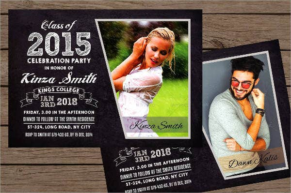 Graduation Announcement Invitation