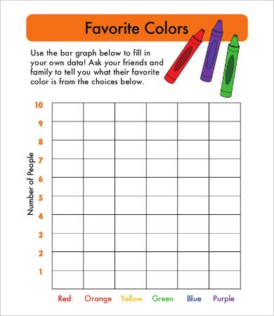 bar graph template for kindergarten