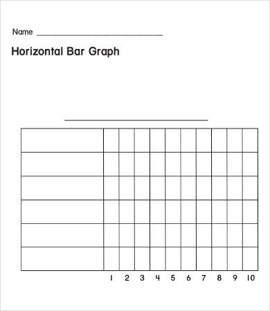 image regarding Printable Bar Graph Template named Bar Graph Templates - 9+ Absolutely free PDF Templates Downlaod No cost