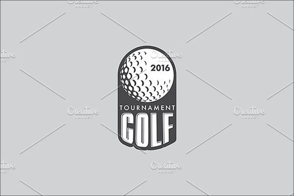vector golf logo