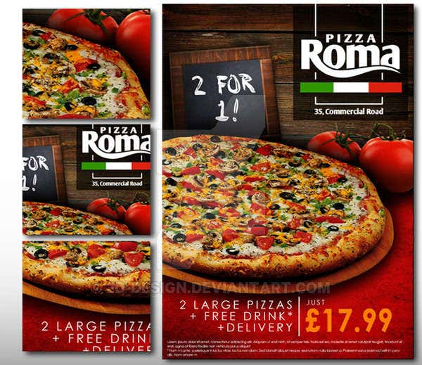 pizza roma poster free download