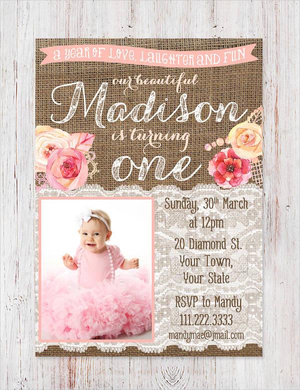 Pearl Print Invitation