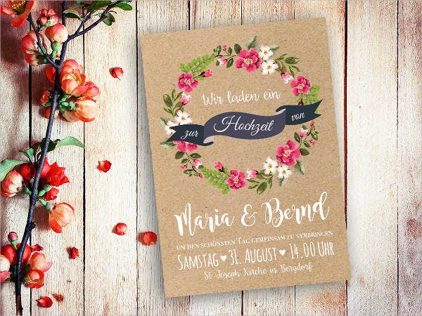 Print Invitation card
